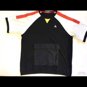 Black Pyramid Pocketed Shirt